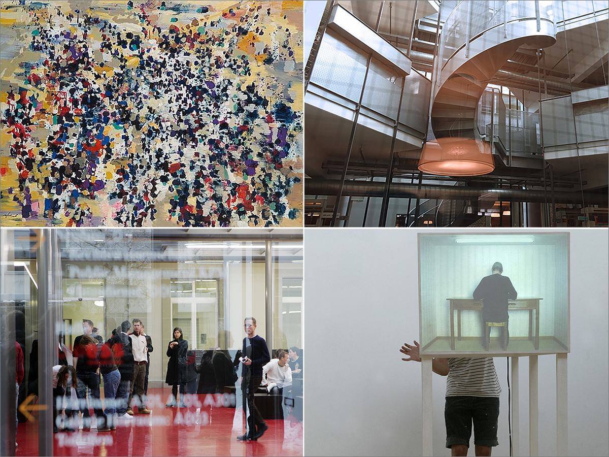 Titelbild: Graduate School of the Arts and Humanities (GSAH)